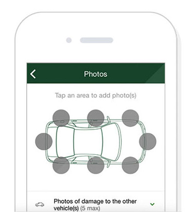 Use the TD Insurance app to file an auto claim